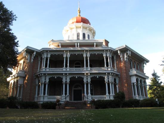 Natchez, MS: Exterior of Longwood