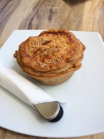 Salty Squid Cafe: Chicken and Sweet Potato Pie