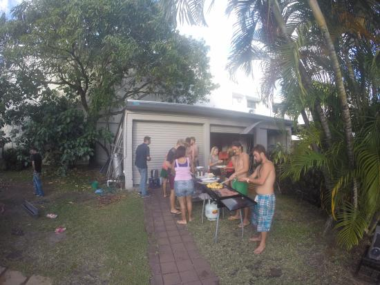 Lazy Duck Hostel: Lazy Duck BBQ