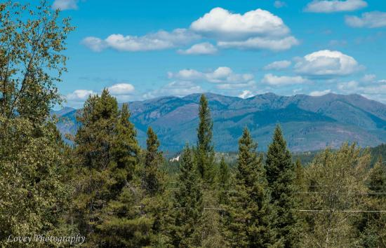 Hungry Horse, MT: The view from the RV park