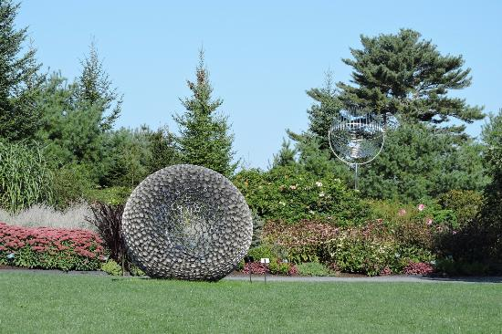 Beau Coastal Maine Botanical Gardens: George Sherwood Sculpture