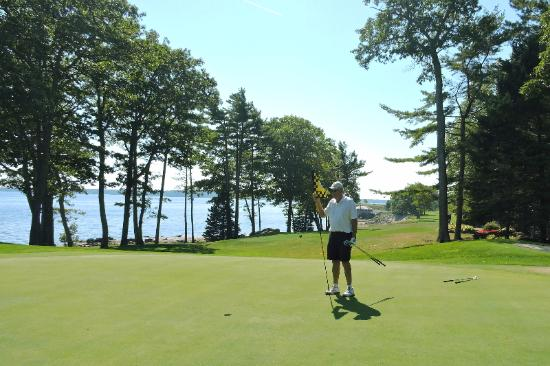 Rockport, ME: Samoset golf