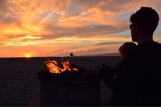 Seascape Resort Smores Over Our Beach Bonfire