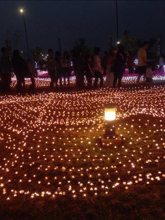 Tangerang, Indonesia: Taman sakura