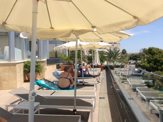 Piscina picture of hotel costa azul palma de mallorca - Piscinas palma de mallorca ...