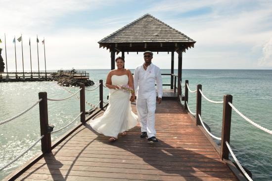 Perfect wedding location Picture of Sandals Grenada Resort