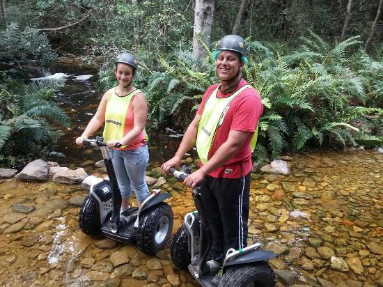 Tsitsikamma Backpackers : Segway tour is so awsome loved every single moment to bits the guide was just brilliant thanks M