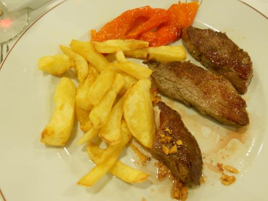Restaurante Casa Tomas : presa de cerdo ibérico