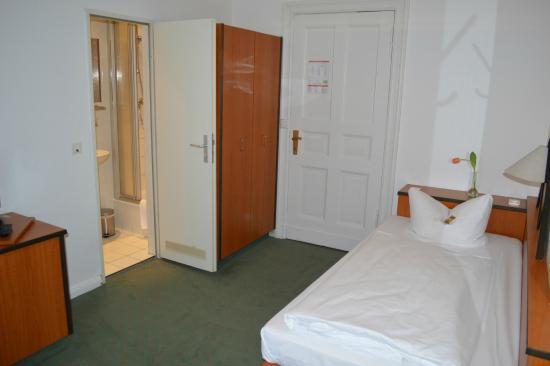 Hotel Tiergarten: Einzelzimmer