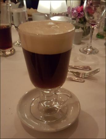 Camelot Castle Hotel: Irish Coffee