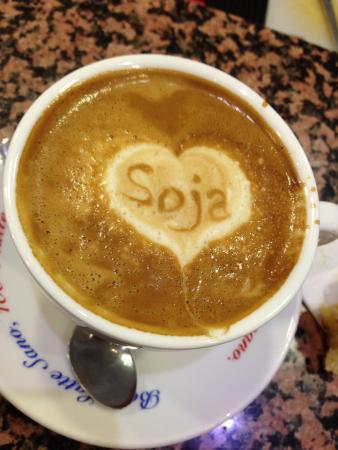 Dolce Bar: Cappuccino latte di soja