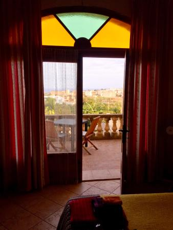 Narcisa Bed & Breakfast : Vista dalla camera Reqqa Point