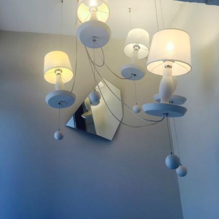 MARAIS HOme Hotel: cute lamp at the entrance