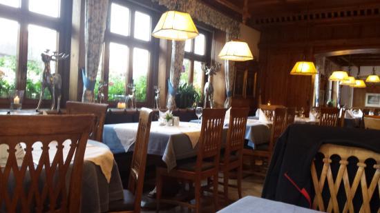 Gaienhofen, Tyskland: Die Gaststube vom Restaurant - Hotel Hirschen