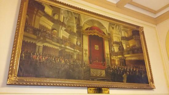 El Congreso: Interiores