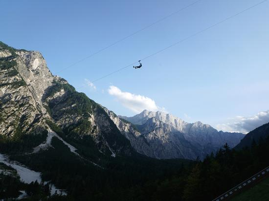 Ratece, Slovenia: Zipline Planica