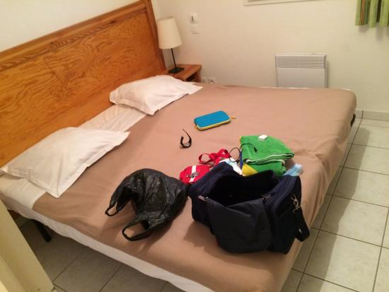 Le Domaine du Green : la chambre