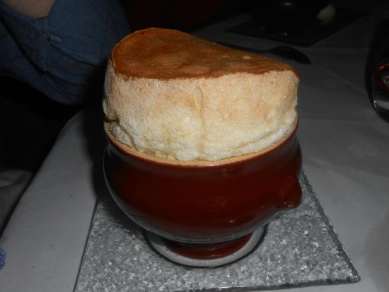 Chateau de Beaulieu: Souffle dessert
