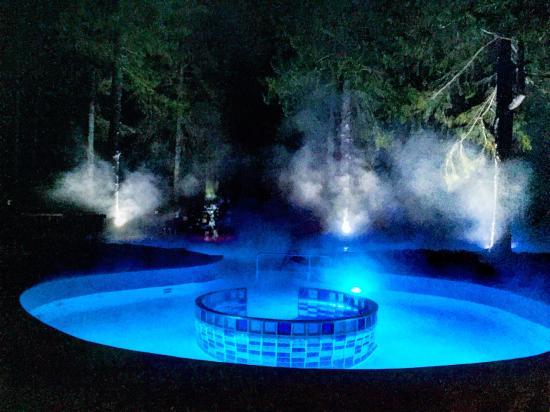 Solnechnogorsk, Rusia: Открытый бассейн с подогревом
