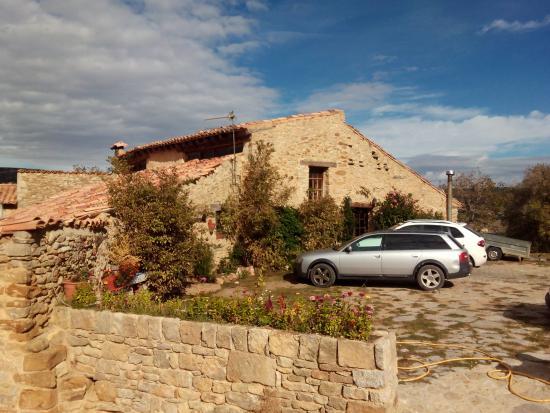 Villarluengo, Spania: Vista de la masía