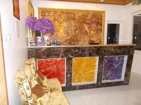 My Home @ Bali: receptionist