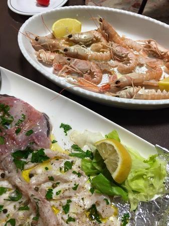 Hotel Morolli: Pesce freschissimo