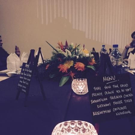 Lokah Restaurant & Cafe : our private dining room