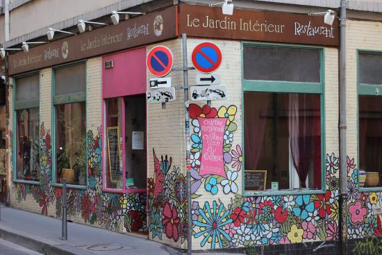 Le Jardin Interieur, Lyon - 2 rue de BelFt - Restaurant Reviews ...