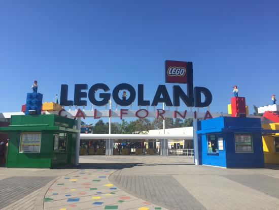 LEGOLAND California: Legoland Entrance
