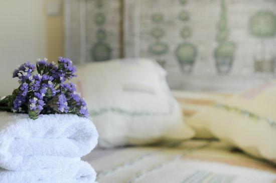 Petries, Grecia: Studio bed view