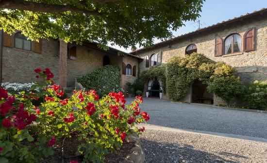 Villa Ostignano: La villa