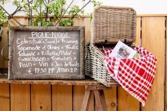 Chantemerle-les-Grignan, Fransa: Pique-Nique