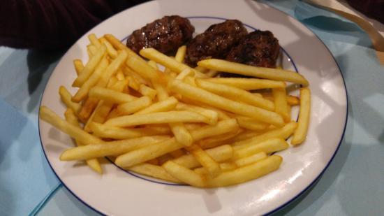 Alfortville, Γαλλία: plat du menu enfant