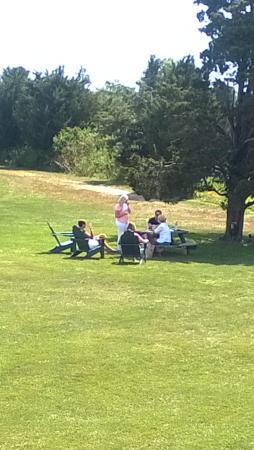 Saltwater Farm Vineyard : outdoor picnic