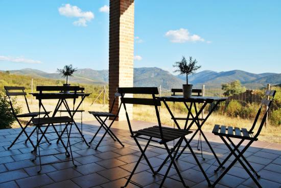 Casa Rural Las Becerras: terraza mirador