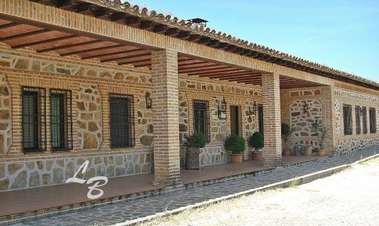 Casa Rural Las Becerras: entrada principal