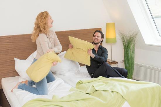 Hotel Vulcano Lindenhof: Schlafen im Vulcano Lindenhof