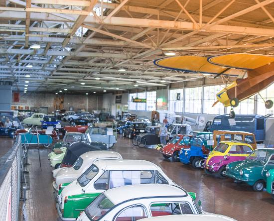 Half Of The Showroom Picture Of Lane Motor Museum