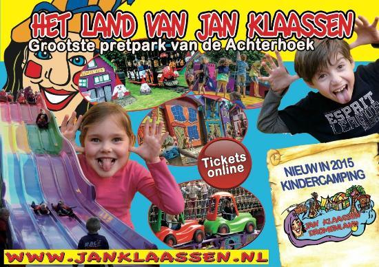 Het Land van Jan Klaassen: attractiepark en thema park jan klaassen