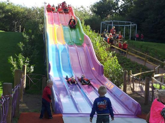 Het Land van Jan Klaassen: glijbanen voor kinderen bij jan klaassen