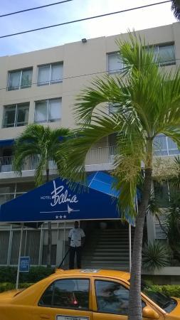 Hotel Bahia : Frontansicht