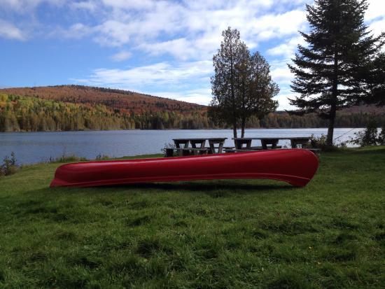 St-Donat de Rimouski, Canada : Vue sur le lac