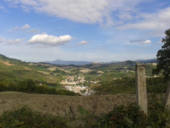 Muccia, Italië: Vista 1