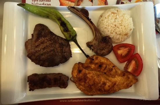 Tarihi Sultanahmet Koftecisi: Месное ассорти