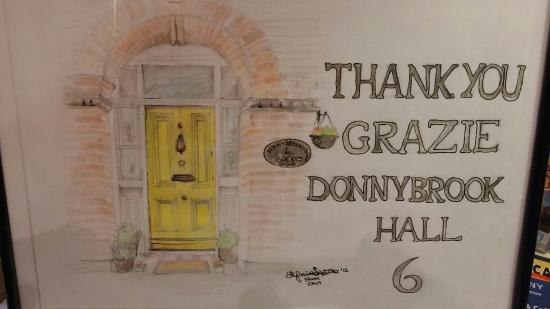 Donnybrook Hall Hotel: Complimenti .