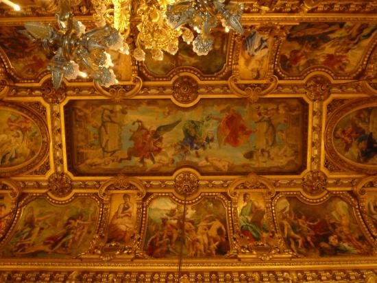 Grand Foyer Du Palais Garnier : Paris plafond du grand foyer l opéra garnier picture