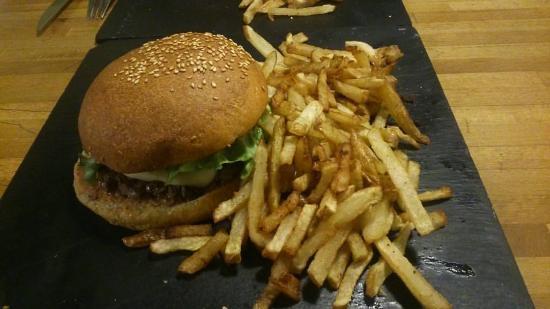 L'Atelier du Burger: Mon repas :)