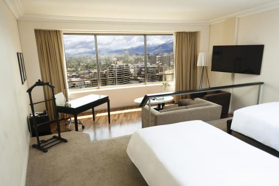 Hotel Santiago: Grand Twin View