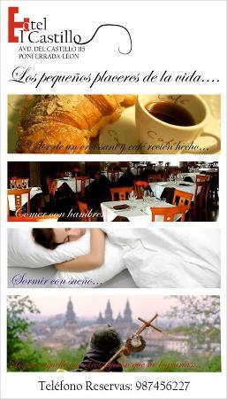 Hotel el Castillo: CARTEL INFORMATIVO HOTEL