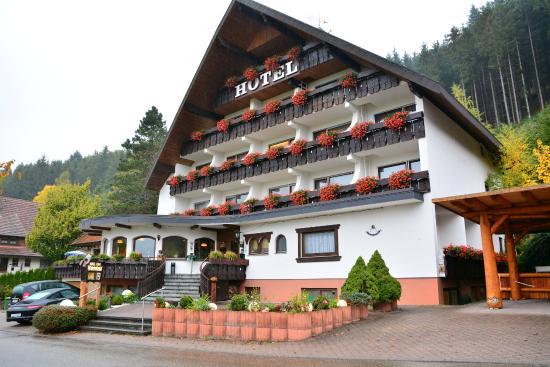 Schenkenzell, Tyskland: Hotelfront